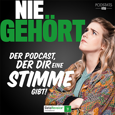 Nie Gehört Podcast mit Katjana Gerz sponsored by Gelovoice
